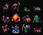 Tiny 32x32px RPG creatures