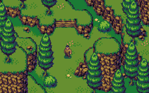 Top-down medieval fantasy RPG mockup by aamatniekss