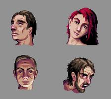 Pixel Portraits by aamatniekss