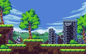 Forest Ruins mockup by aamatniekss