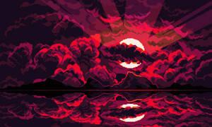 Blood Moon by aamatniekss