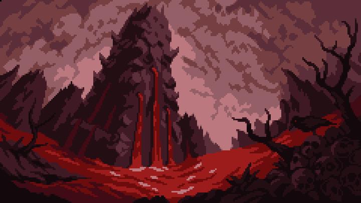 Blood Landscape by aamatniekss