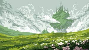 Fantasy Plains Castle