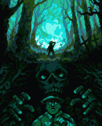 Short Story for Pixelween 2020 on Pixel Joint