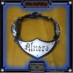 Almera's Collar tags by ChardwolfArmory