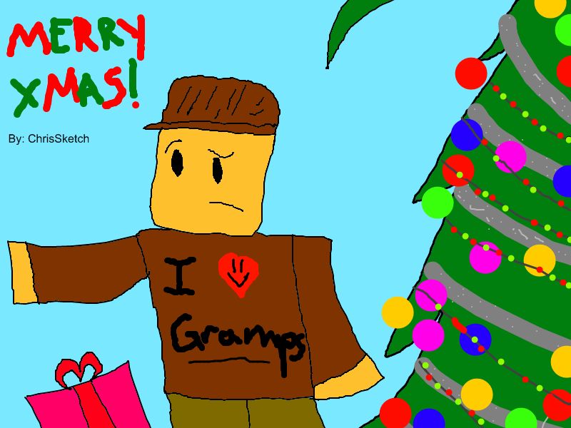 A Very Roblox Christmas by SketchChris on DeviantArt