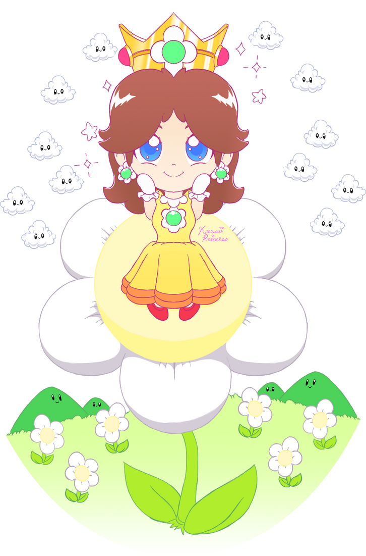 Chibi Daisy by KawaiiPrincess64