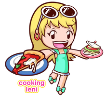 Cooking Leni by KawaiiPrincess64