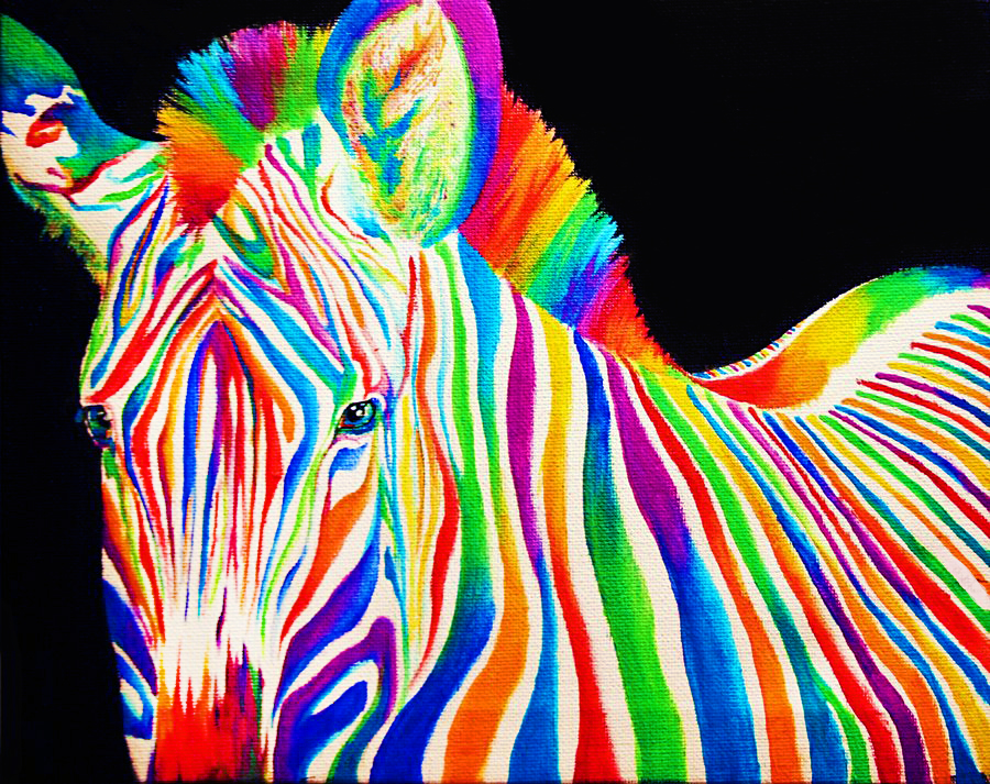 black white and rainbow by splash of colour on deviantart