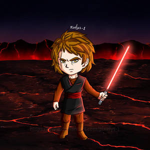 Anakin Skywalker - DBZ colors