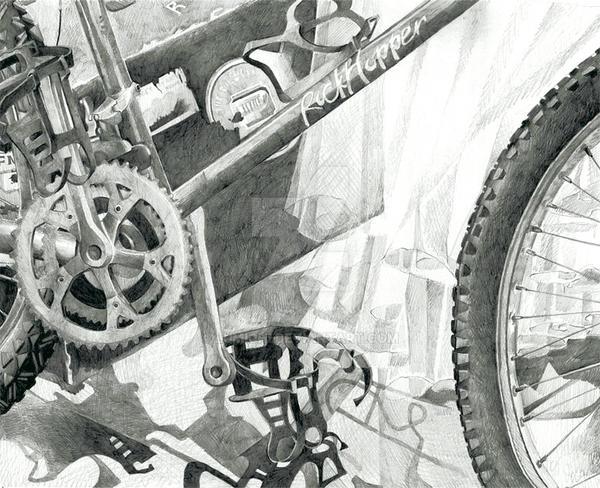 Portfolio 4 Risd Bike Drawing By Lumichi On Deviantart