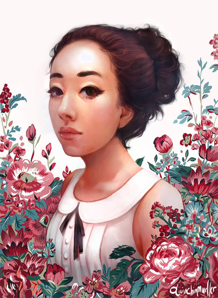 Self Portrait by Lumichi