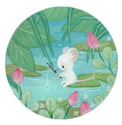 Fishing Mouse by Lumichi