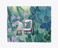 Mini Painting Mouse by Lumichi