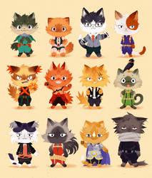 Meow Hero Academia