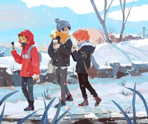 Haikyuu Winter