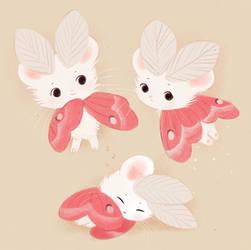Pink Mousemoth