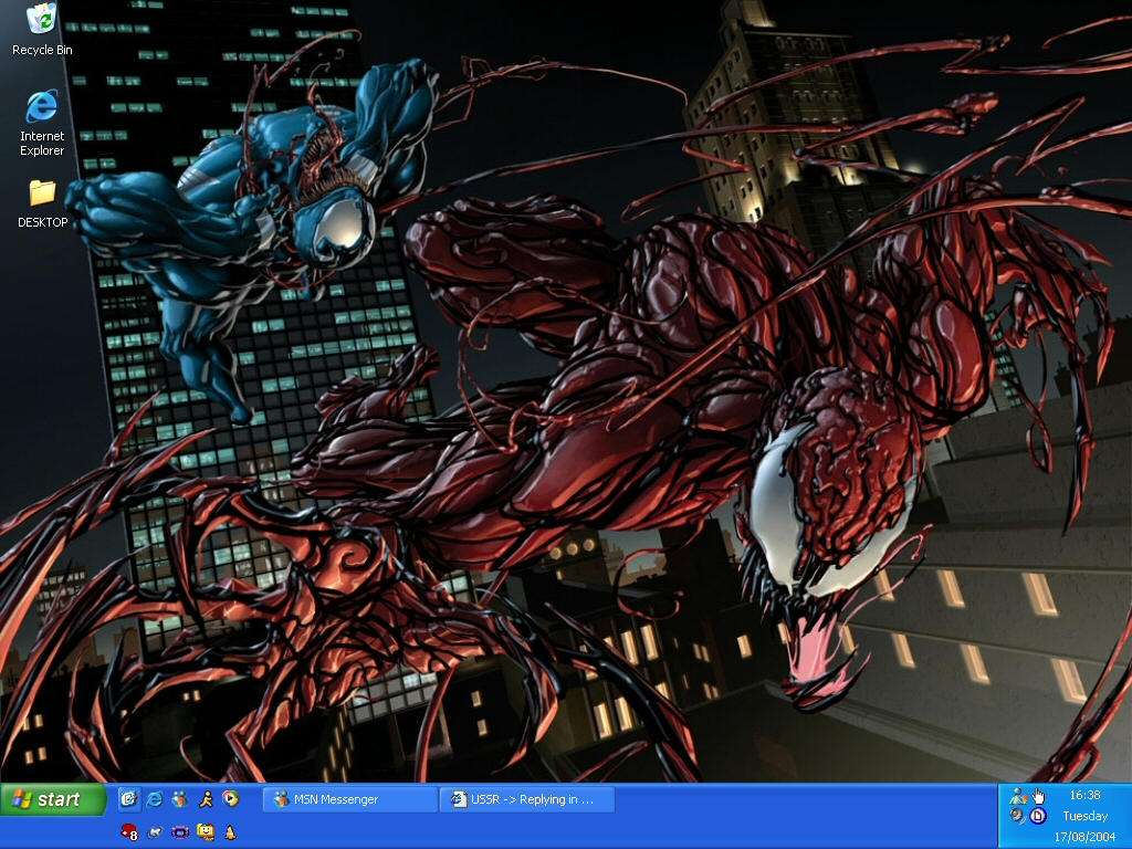 Venom Vs. Carnage by shadowknuxx
