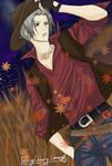 Cowboy Gokudera by BerryCherryLene