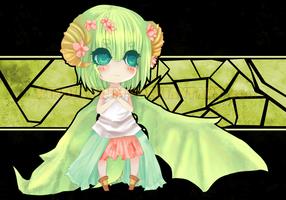 ADOPTABLE[Green Dragon Chibi] [CLOSED] by KindlyGrim