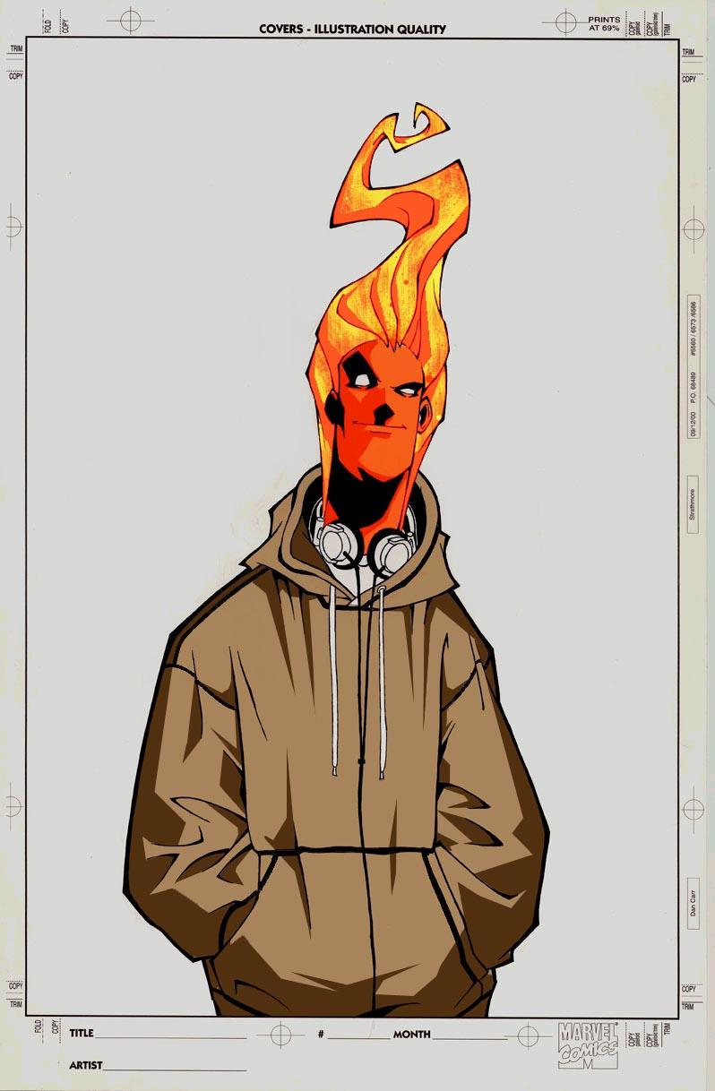 Human Torch by Garlan