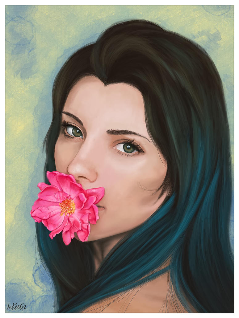 LadyBlue by LuKee092
