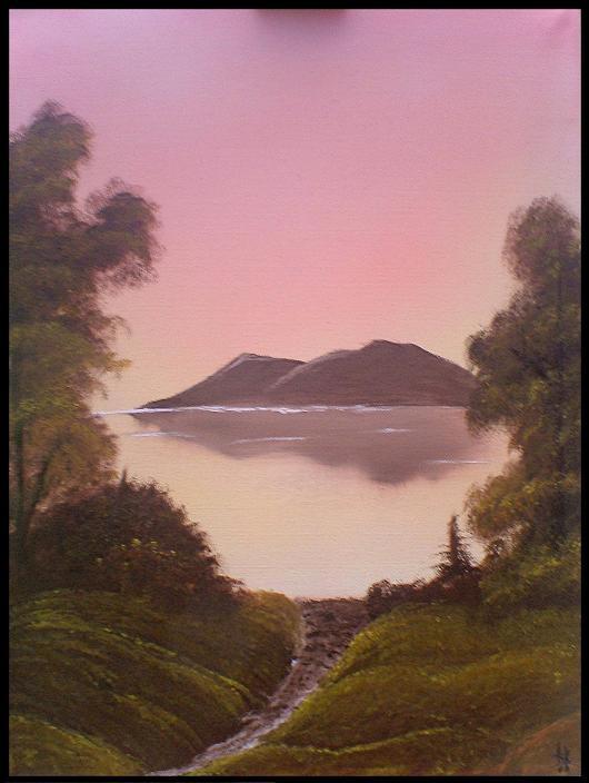 sun lake by W-I-T-C-H