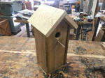 Little Wooden Bird House (Part 4 FINAL) by StrideOStyle