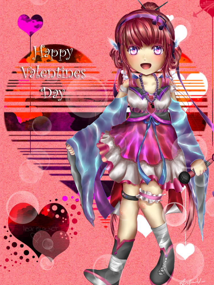 Heartslocket Valentines by Jqnn