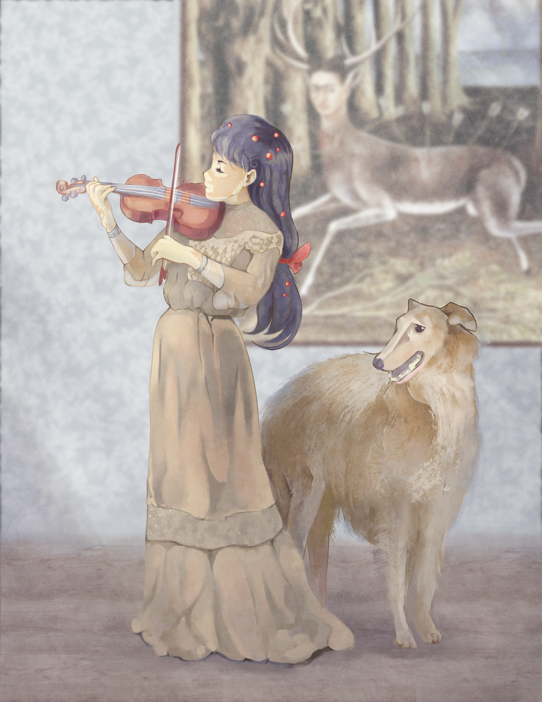 Violinist by littlebruke