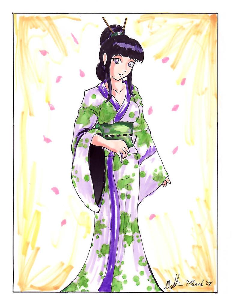 Hinata: Kimono by sharem