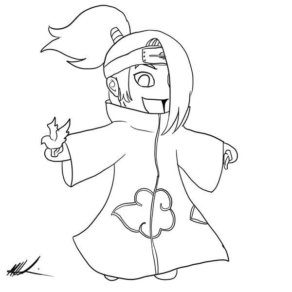 Naruto chibi para dibujar facil imagui for Chibi naruto coloring pages
