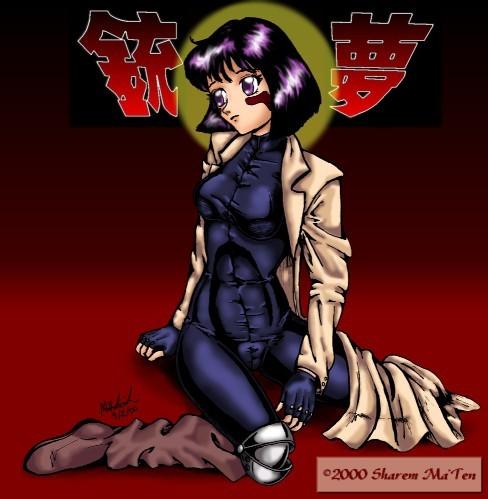 Hotaru as Gally  Battle Angel by sharem on DeviantArt