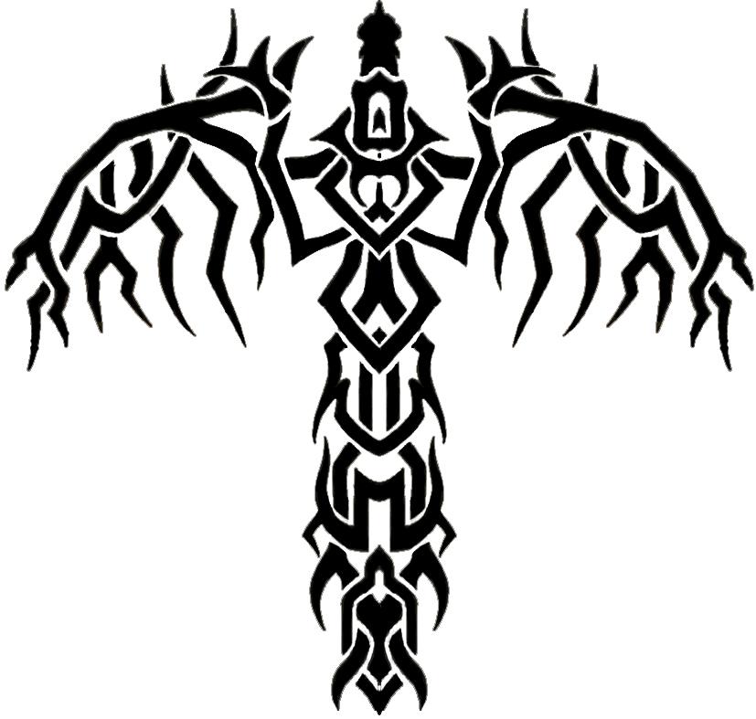 tribal sword wings by blade m on deviantart. Black Bedroom Furniture Sets. Home Design Ideas