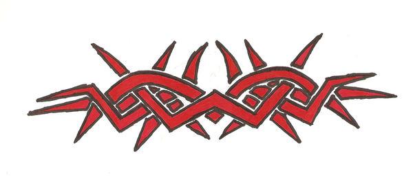 tribal back tattoo by blade m on deviantart. Black Bedroom Furniture Sets. Home Design Ideas