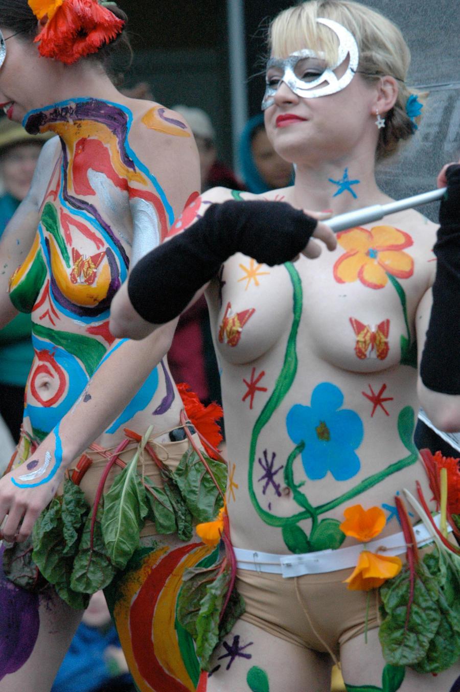 Public body art  Public Body Paint 02 by Studio5Graphics Public Body Paint 02 by Studio5Graphics
