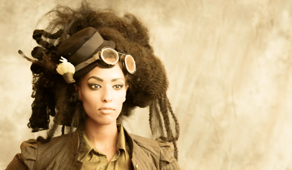 Steampunk Fashion Model 5 By Studio5graphics On Deviantart