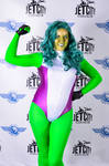 Jet City Comic Con 2014 - She Hulk cosplay