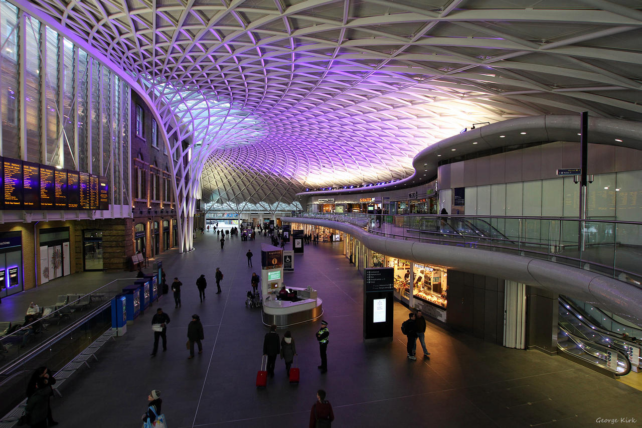 Kings Cross Train Station London by George---Kirk
