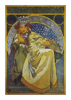 Alphonse Mucha postcard prints 8