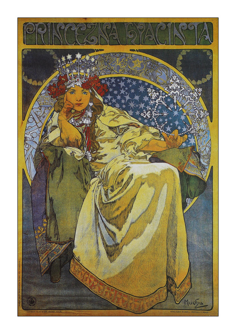 Alphonse Mucha postcard prints 8 by George---Kirk