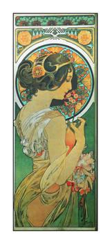 Alphonse Mucha postcard prints 10