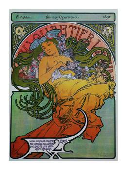 Alphonse Mucha postcard prints 17