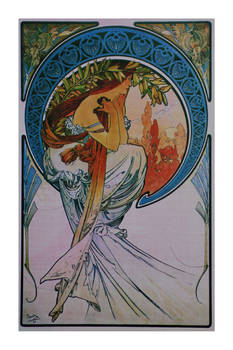 Alphonse Mucha postcard prints 19