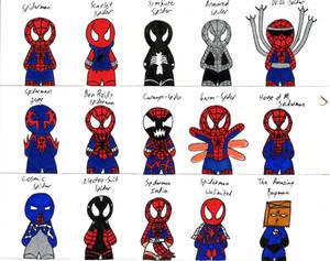 costumes of spiderman