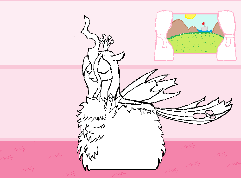 Fluffle Puff fan comic in the making by Discord-Drocsid
