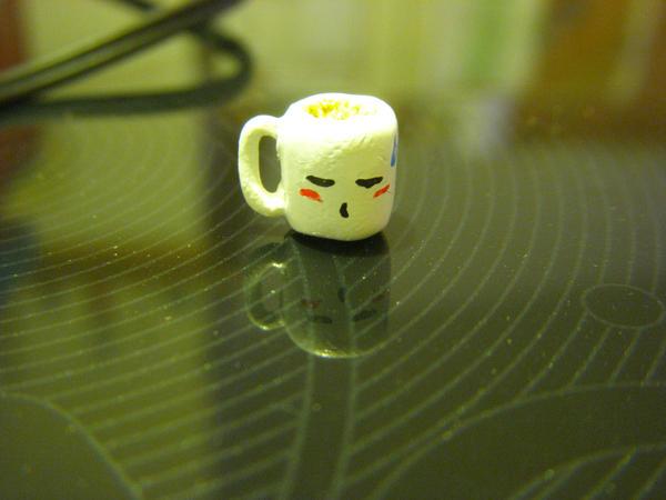 Too Early coffee mug charm by blitzballgirl134
