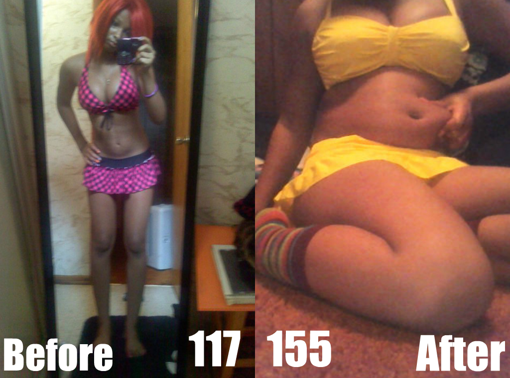 Fat girls weight gain tits consider, that