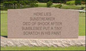 Sunstreaker Tombstone