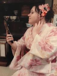 Kimono photo shoot Asakusa 1